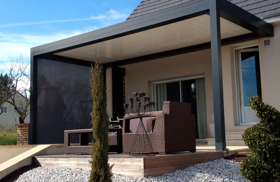 pergolas des espaces vivre pergolas sur mesure bordeaux servisun. Black Bedroom Furniture Sets. Home Design Ideas